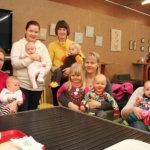 Uudet kävijät ovat tervetulleita Toijalan MLL:n vauvakahvilaan