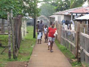 Näkymä Orinocon kylästä.