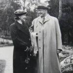 Atte ja Pirkko Arola avioliiton alussa.