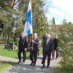 Kaatuneiden muistopäivässä muisteltiin veteraanien uhrauksia