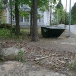 Kierrätyspiste poistetaan ongelmien takia Pätsiniemessä