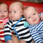 Koivulan keskosina syntyneet kolmoset kasvavat kohisten