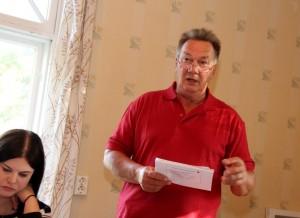 Demarien puoluhallituksen jäsen Pekka Järvinen osallistui Toijalan Työväenyhdistyksen kesätapahtumaan maanantaina.