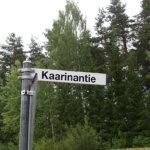 Navigaattori ja tekoturkis vietiin viikonloppuna Kaarinantieltä