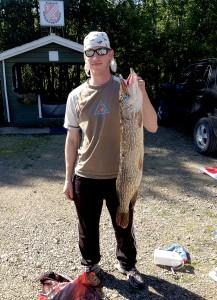 Jarno Hellman Suurin kala oli 6 430-grammainen hauki.