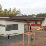 Pajantien päiväkodin piha-alue valmistunee ennen talvea