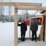 Kylmäkosken Veikot paranteli majansa ympäristöä