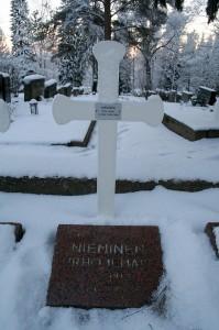 Urho Niemisellä on jo paikka Toijalan sankarihautausmaalla.