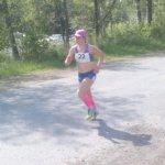 Klaara Leponiemi juoksi Haka-maratonin voittoon