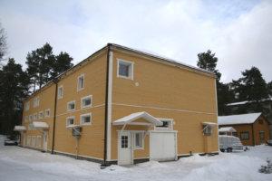Myös omistajaa vaihtanut ja uuden ulkoasun saanut Säästötalo on ehdolla Viialan museon uudeksi paikaksi.