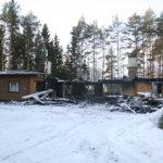 Hirsitalo paloi kaksi kertaa Viialassa