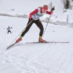 Klaara Leponiemi hiihti SM-neloseksi Valkeakoskella