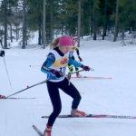 Klaara Leponiemi hiihti SM-pronssille