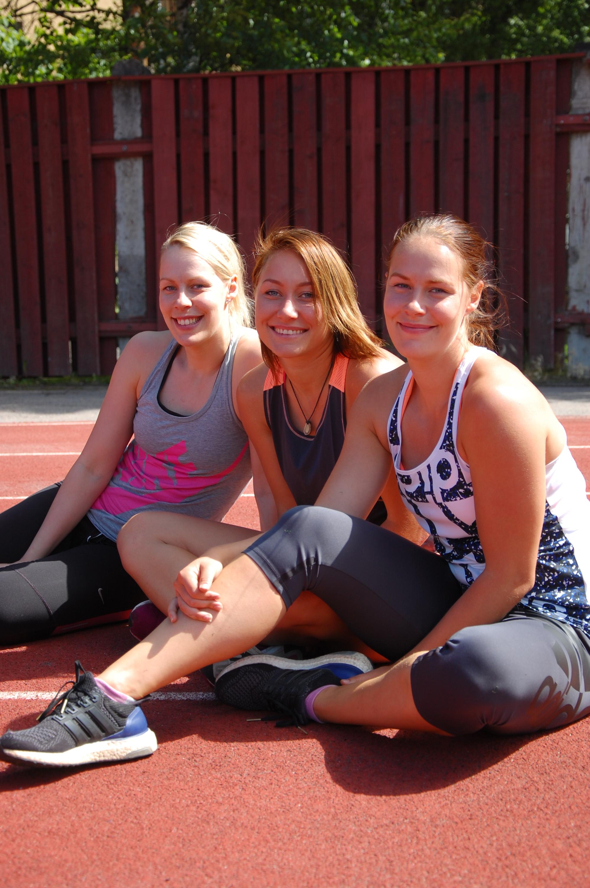 Nelli ja Noora Toivo sekä Emma Millard treenaavat vailla paineita - Akaan Seutu