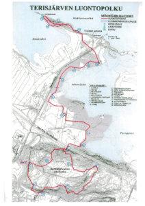 Terisjärven luontopolku A4
