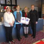 LC Kylmäkoski palkitsi Olkkarilla vapaaehtoistyötä tehneet nuoret