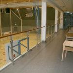 Kalustepula vaivaa Keskustan koulua ja palloiluhallia