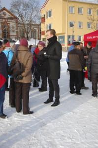 Ilmari Nurminen toivoo, että lähipalvelut säilyvät myös sote-uudistuksen jälkeen.