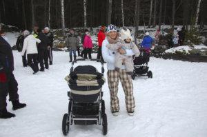 Maarit Uusitalo ja Sasu Kari olivat ensimmäistä kertaa Kekkä-saaressa.