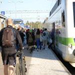 Lähijunaliikenteen pilottihanke tukisi Akaan asemaa työmatkaliikenteessä