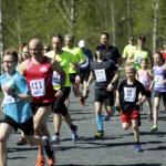 Maratoonari Marko Vaittinen nopein Toijala Hölkän kympillä