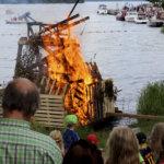 Ennätysyleisö juhli juhannusta Satamassa