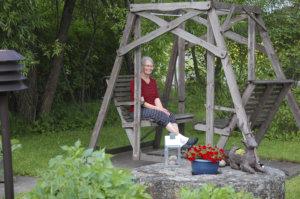 Enni Kuisma, puutarha