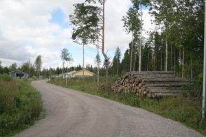 Pirkanmaan Metsänhoitoyhdistyksen järjestelmän mukaan kuusitukit on ajettu pois Toijalan Uudestakylästä.