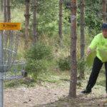 Luukas Rokkanen hakee frisbeegolfista jopa ammattia
