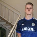 Juho Pirttijoki pelasi GIF Sundsvallin avauskokoonpanossa