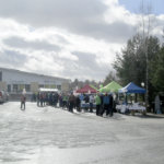 Kampanjapäivä huipentui kuntavaalikuhinaan Kylmäkoskella