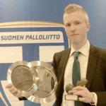 Jussi Nyström palkittiin Futsal Gaalassa