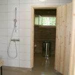 Uimarannan sauna on uusittu perusteellisesti