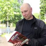Janne Kellari julkaisi kolmannen kirjansa
