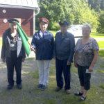VR:n eläkeläiset viettivät kesäpäivää Vainionlahdessa