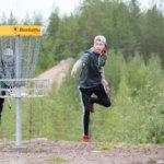 Eemeli Huikolle 17. sija frisbeegolfin SM-kisoissa