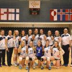 Laura Laukkanen pelaa lentopallotyttöjen U16-maajoukkueessa