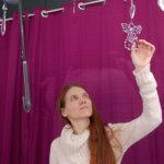 Terhi Saarinen saa enkeleistä valoa ja tasapainoa elämään