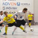 Leijona Futsal ylsi yllätysvoittoon Sievissä