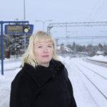 Maija Toivosen mielestä Toijalan rautatieasema on kaupungin käyntikortti