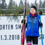 Klaara Leponiemi hiihti hopealle nuorten SM-kisoissa