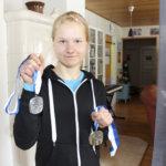 Akaalaisurheilija nousi kauden tilastokakkoseksi naisten kympillä