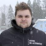 Toni Lähteenmäki ajoi SM-hopeaa jääradalla