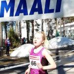 Klaara Leponiemi sijoittui toiseksi maantiejuoksun SM-kisoissa