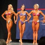 Niina Ovaskainen oli kahdestoista bodyfitnessin master-sarjan SM-kisoissa