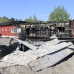 Valmistumassa oleva toimistorakennus tuhoutui Toijalassa