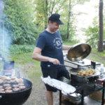Jarmo Ainasoja grillaa rakkaudesta lajiin