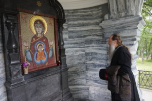"""""""Valamosta on tullut Venäjän ortodoksisen kirkon hengellinen keskus"""", igumeni Fotij iloisee."""