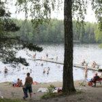 Lämpiääkö kaupungin sauna Arajärvellä kesällä?