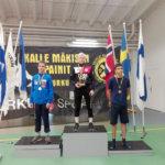 Eemeli Rautanen palkittiin kansainvälisissä kisoissa Turussa parhaana suomalaisena painijana